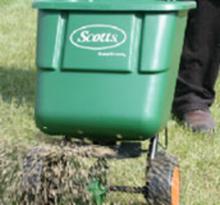 Grass seed spreader - Boston Seeds