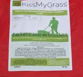 Lawn and amenity fertiliser from Boston Seeds