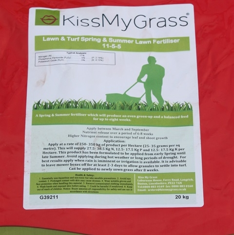 BS Spring & Summer Lawn and Sportsfield Fertiliser 11.5.5
