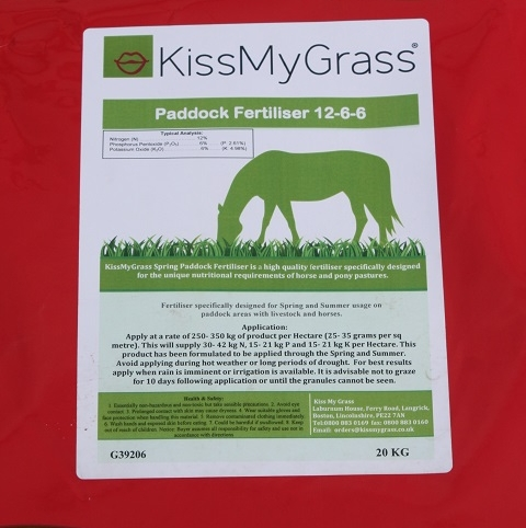 KissMyGrass Maintainer Paddock Fertiliser