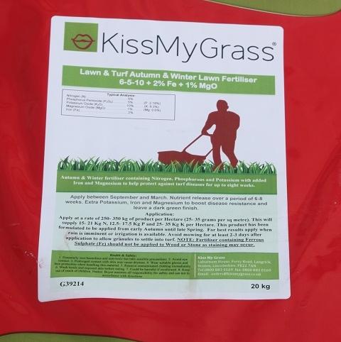 BS Autumn & Winter Lawn Fertiliser 6.5.10 + Fe + Mg