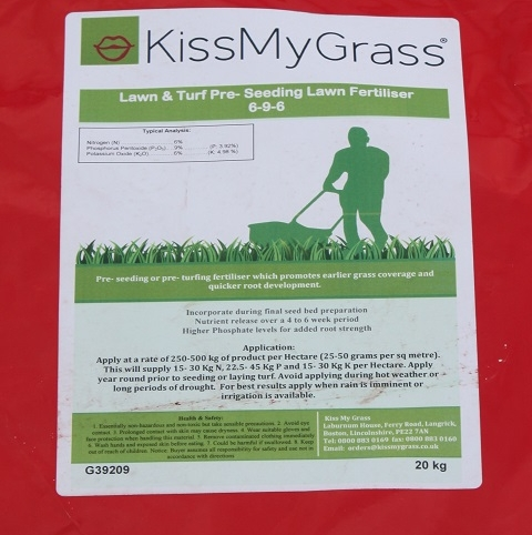 BS Pre-seeding Lawn and Sportsfield Fertiliser 6.9.6